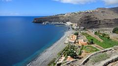 La Gomera (Spain's Canary Islands) - Playa de Santiago, a small village in the south