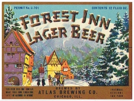 Forest-Inn-Lager-Beer-Labels-Atlas-Brewing-Company