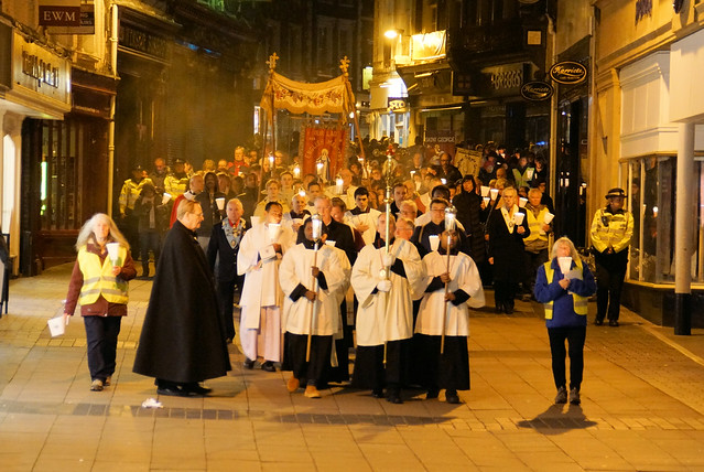 Blessed Sacrament Procession and Vigil for Life Norwich Oct17