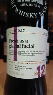 SMWS 100.17 - Fresh as a glacial facial