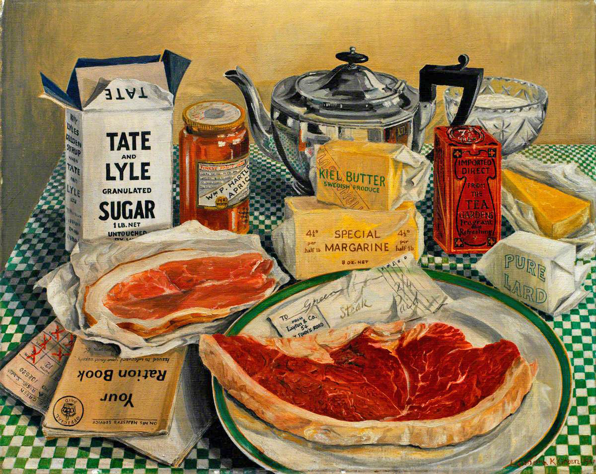 Leonora Kathleen Green (1901–1966), Coupons Required, 1941.