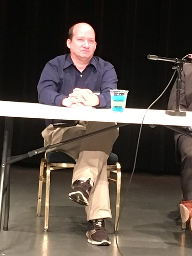Chris Reeves on a panel in North Carolina