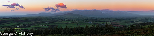 Comeragh Mountains Sunrise Pano