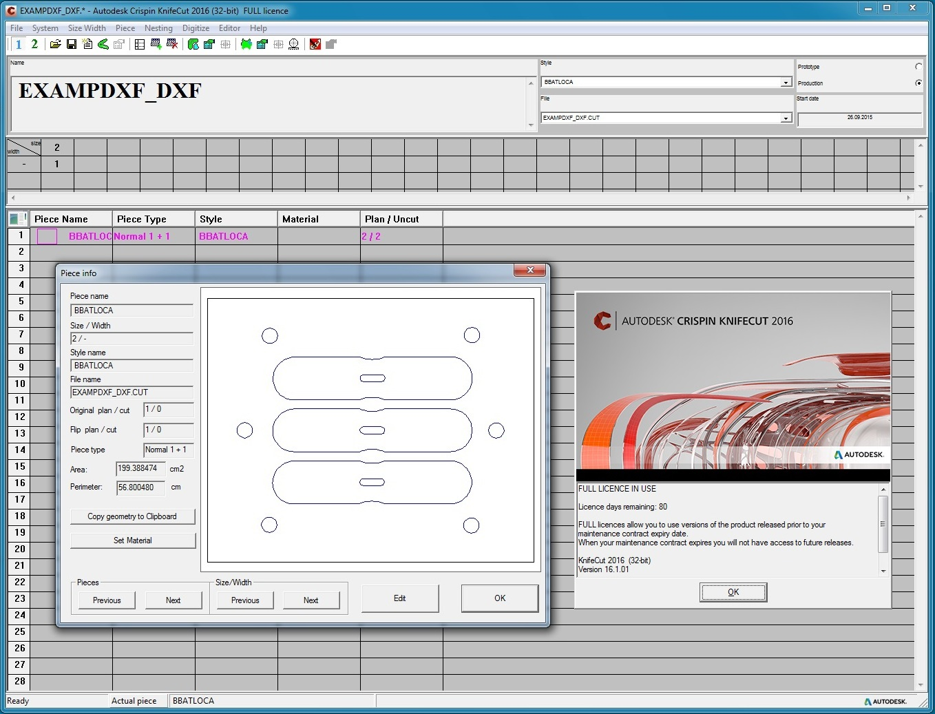 Working with Autodesk (ex Delcam) Crispin KnifeCut 2016 R1 full
