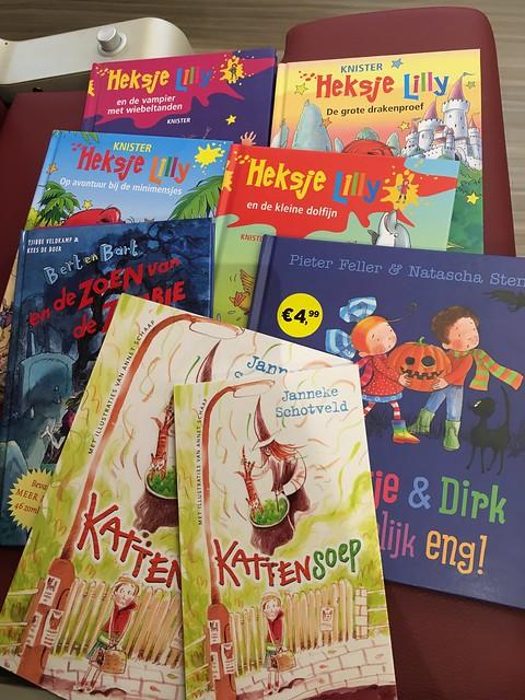 Heksje Lilly boeken plus kinderboekenweekgeschenken