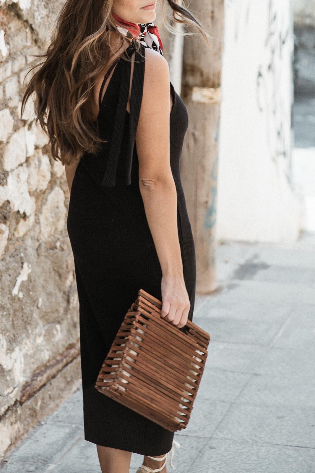 seams for a desire - jessie chanes - black tight dress - zara-2