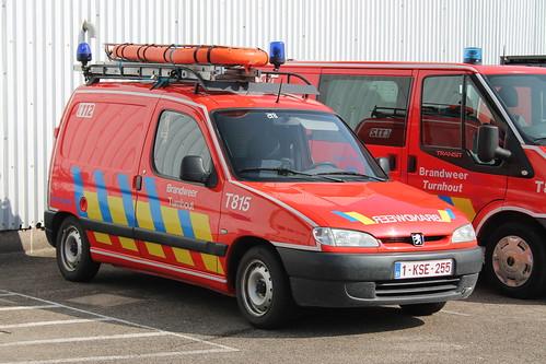 Duikerswagen T815 Brandweer Turnhout