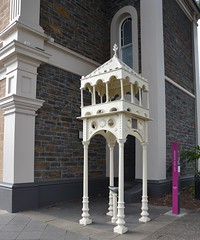 Cast iron fountain erected to the memory of John Miller, Town Clerk of Unley. South Australia