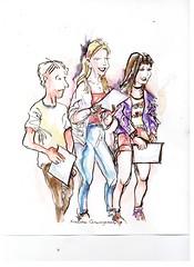 Adam Benjamin, Violet Rawlings, & Lucy Carr