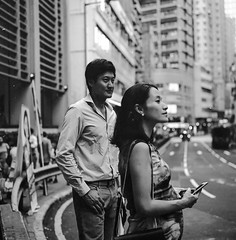 Sammi and Sean, Central, HK 2015