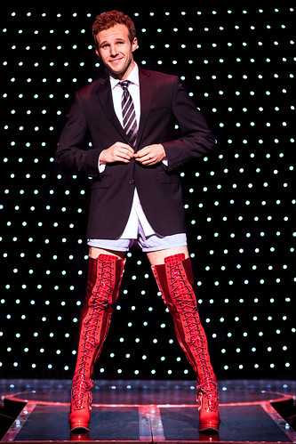 Kinky Boots: You change the world when you change your mind!