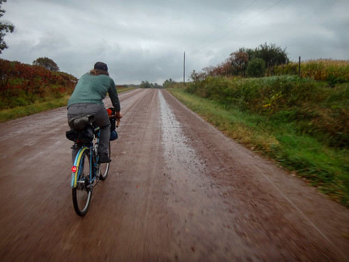 Riding Rain in Amish Country
