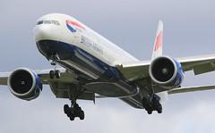 British Airways Boeing 777-300