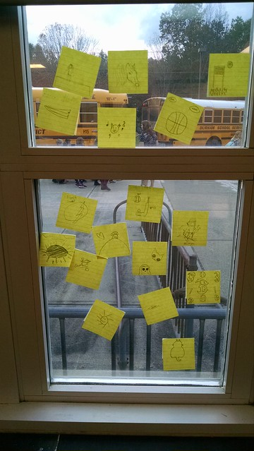 Sticky Note Avatars on Window