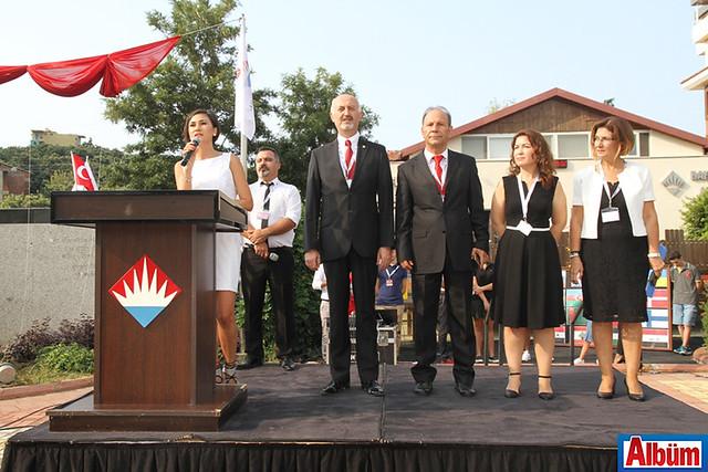 Bahçeşehir Alanya okul müdürleri Metin Altun, Salih Erdemir, Sibel Arıkan, Nevin Seki