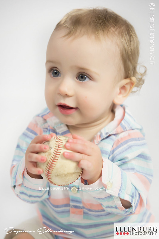 Boy with Baseball