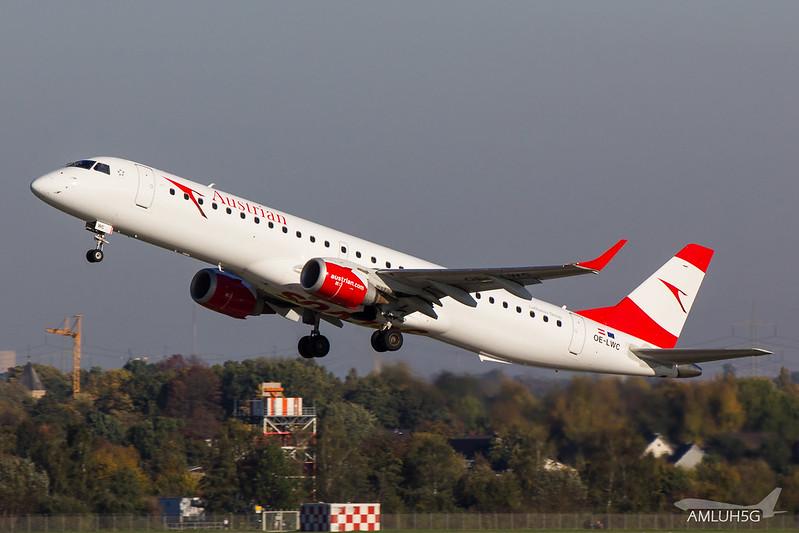 Austrian Airlines - E195 - OE-LWC (1)
