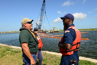 Coast Guard Targets Removal of Polluting Vessels Damaged by Harvey