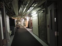 Elliot Hospital Basement Corridor