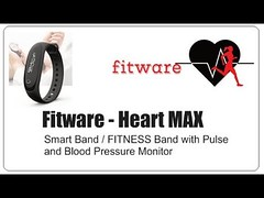 Unboxing Fitware Heart Max - First and Only Fitness Tracker with Blood Pressure monitor in India