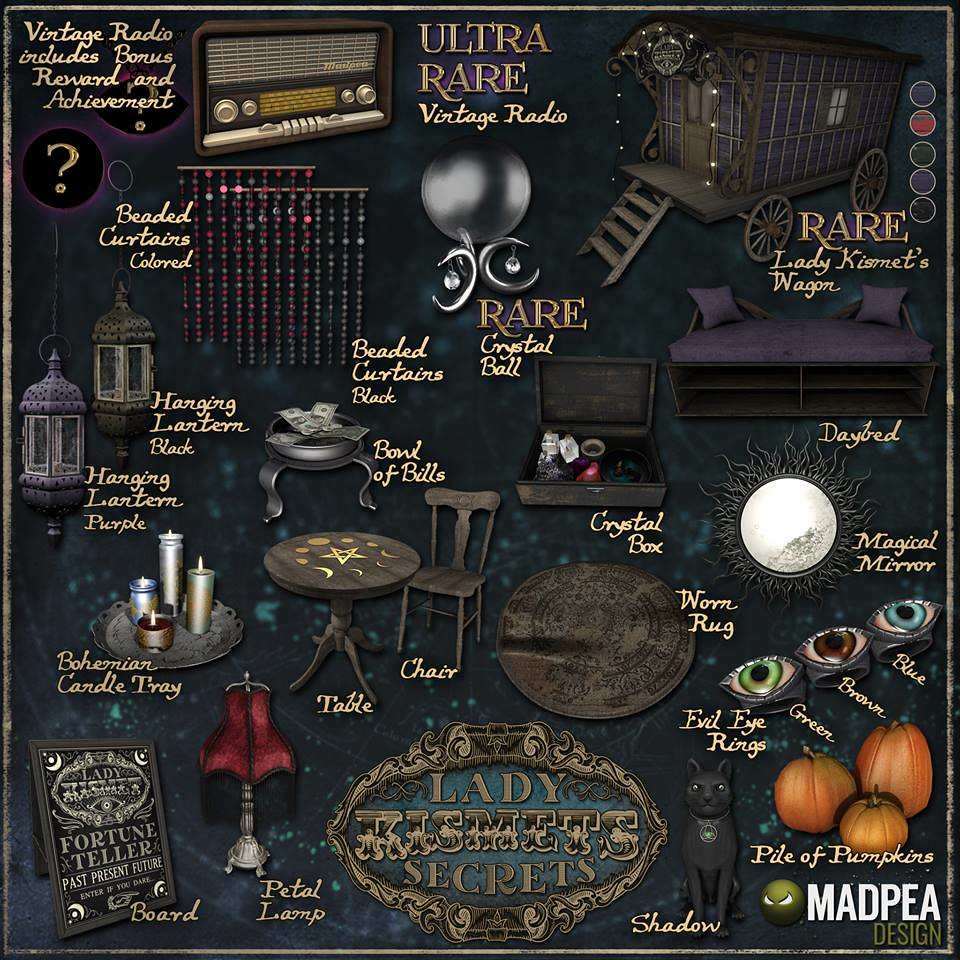 MadPea – Lady Kismet's Secret