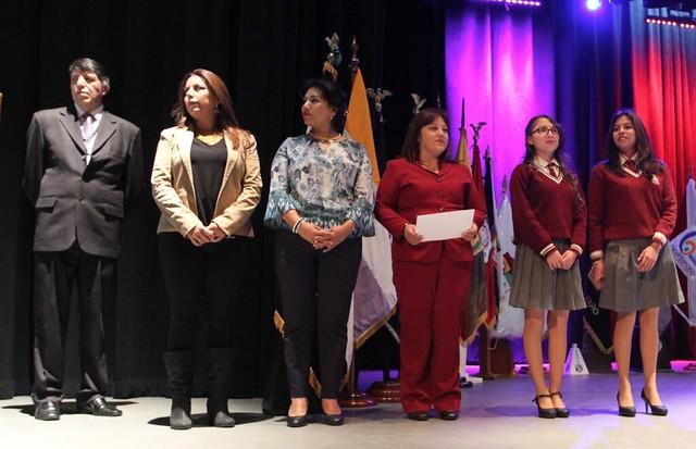 Ceremonia de entrega de diplomas del Bachillerato Internacional Promoción 2016 - 2017