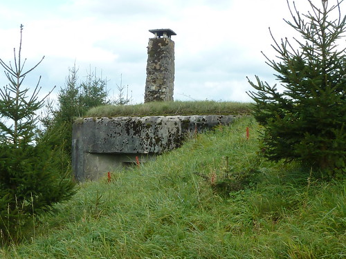 Bunker (mit Kamin)