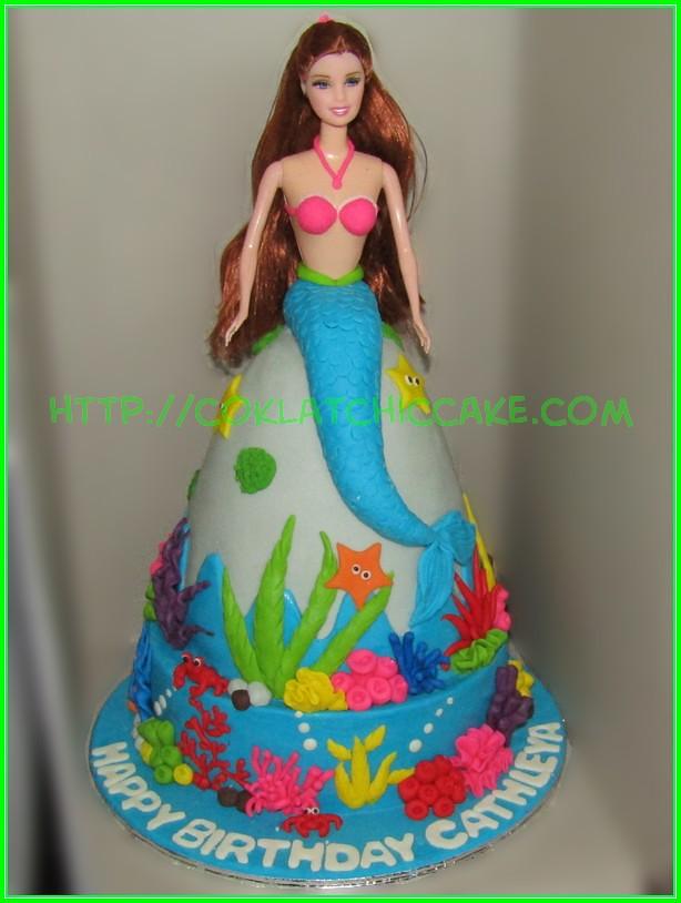 cake mermaid CATHLEYA