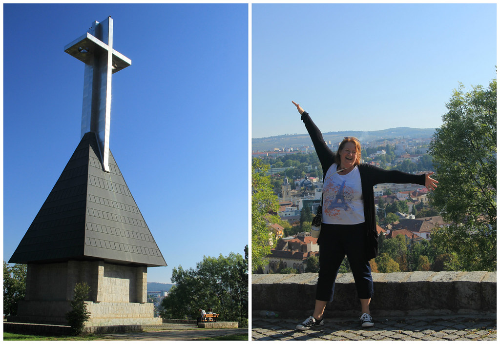 Monument and Kath, Cetatuia Hill