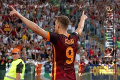 Roma: Dzeko è l'eroe di Champions