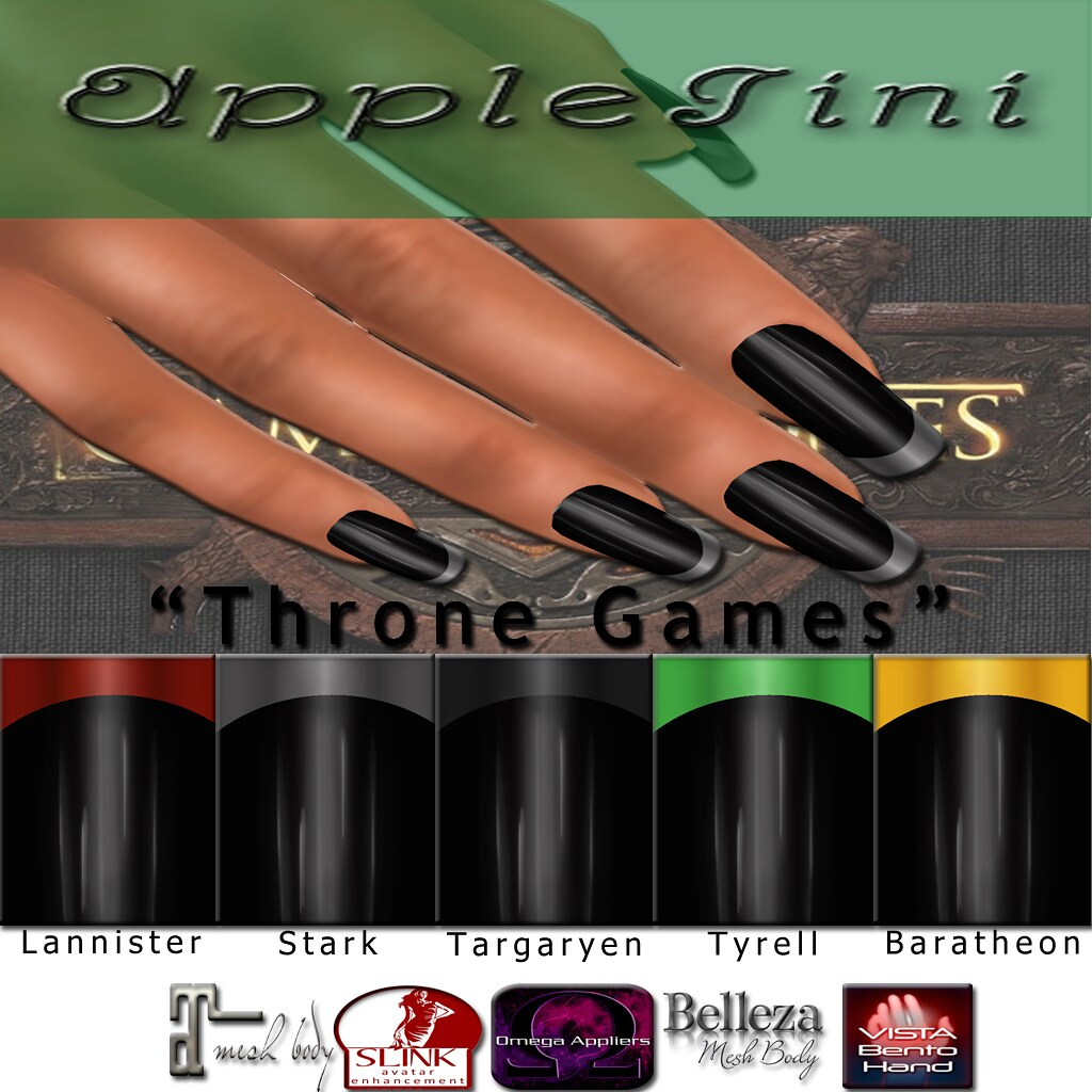 AppleTini Throne Games Nails - TeleportHub.com Live!