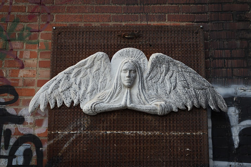 2017 alley angelic artalley artwork contrast distressed metal old plaster prayer privpublic weathered