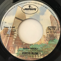 KURTIS BLOW:TOUGH(LABEL SIDE-A)