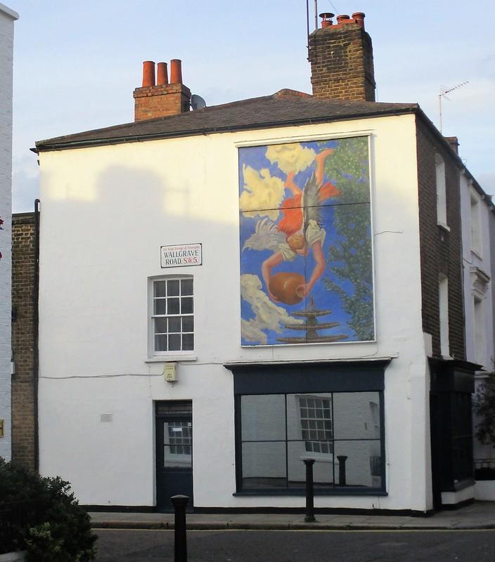 Mural in Earl's Court