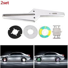 2set LED Car Wheel Light with 50 Styles Patterns or DIY Logo by Yourself IPX6 (1113356) #Banggood
