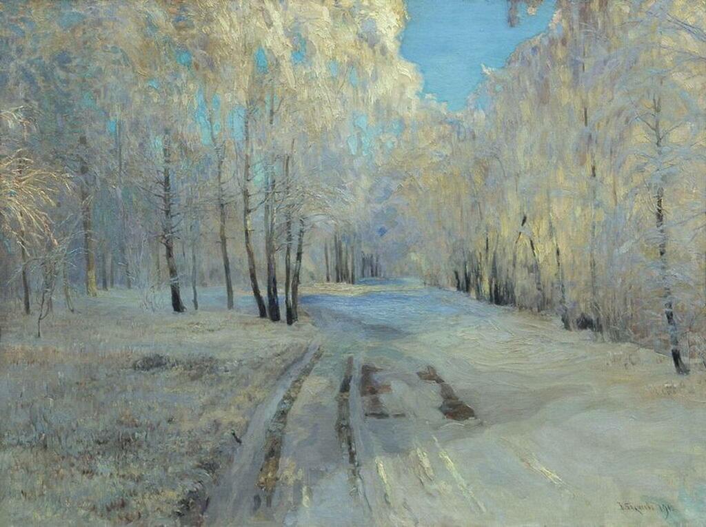 瓦西里·巴克舍耶夫画作选6