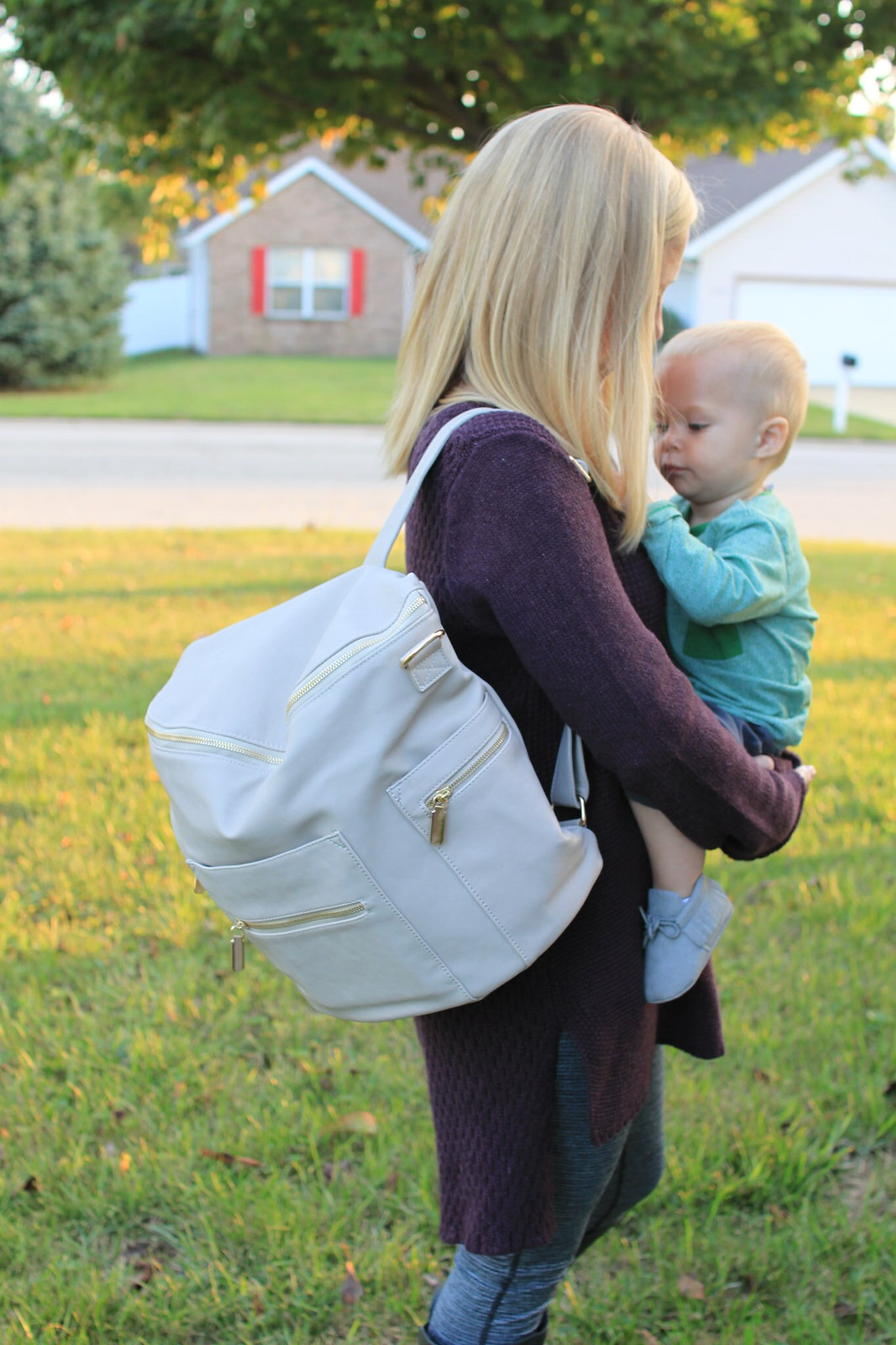 Taking Our Style Back With Miss Fong Diaper Bag Backpack
