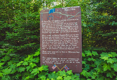 Webster-Ashburton Treaty of 1842 Sign, Grand Portage State Park, Minnesota