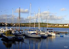 Part Of The Stromness Marina