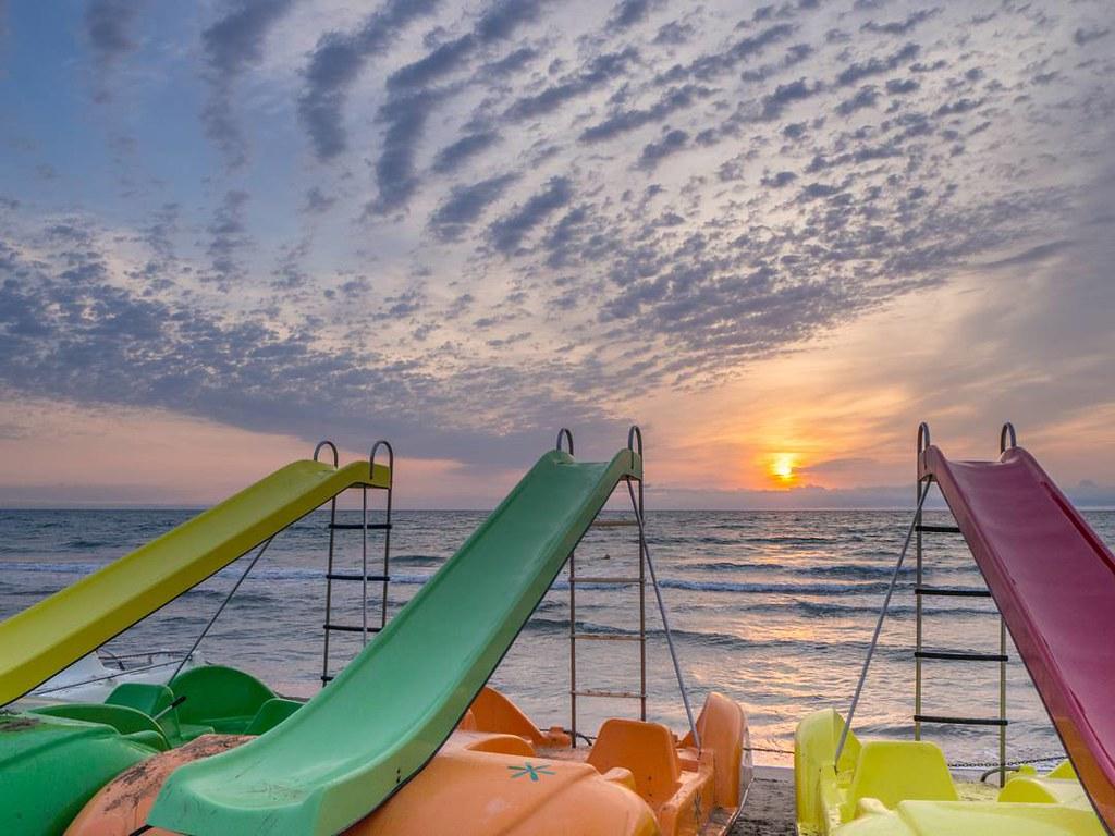 Amaneceres de este verano pasado en #Peñíscola . #Peñíscola #costadelazahar #mediterráneo #sunrise #olympusomd #travelphoto #summer2017