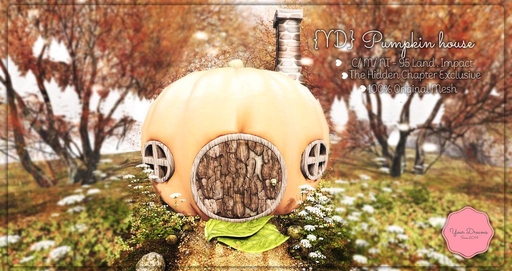 {YD} Pumpkin house - TeleportHub.com Live!