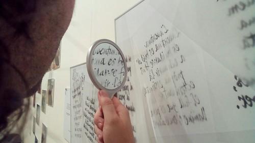Llegint amb el mirall, TRANSPARENTS de Ferran Cerdans Serra; Tocats de Lletra 2017