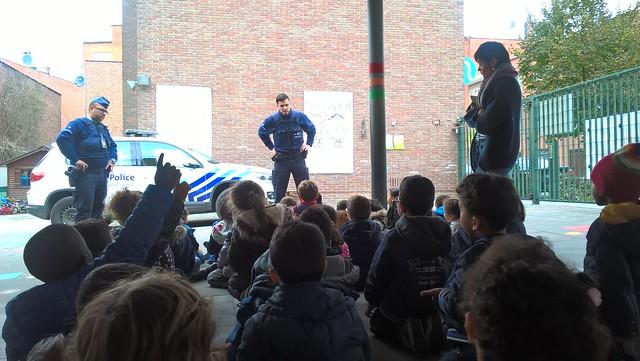 Bezoek van de politie