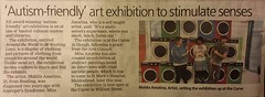 Amazing #press coverage from @sloughobserver for #art #exhibition #80WashingLines @TheCurveSlough! Very chuffed :) #laundry #artinstallation
