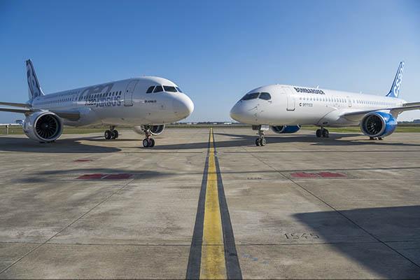 Airbus y Bombardier (Airbus)