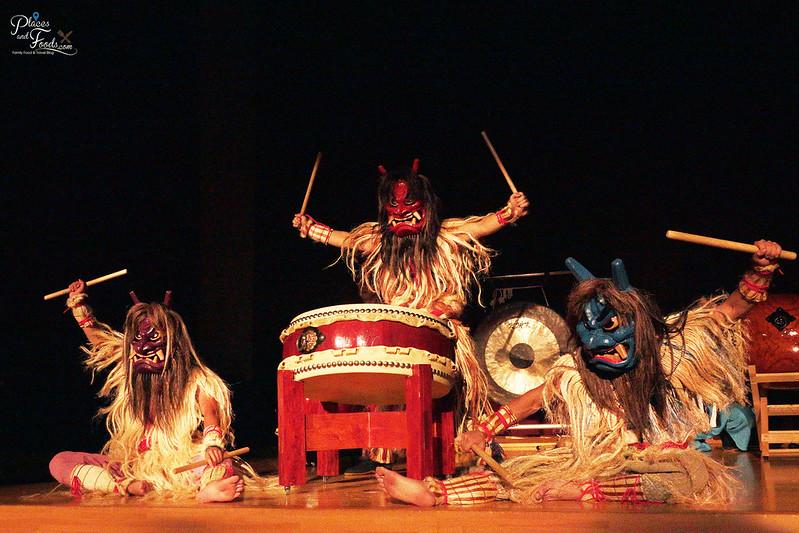 namahage drum trio