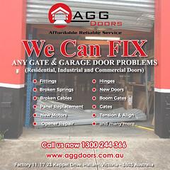 Melbourne Garage Door Repair