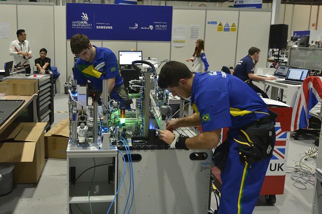 WorldSkills 2017 - Segundo dia de competição