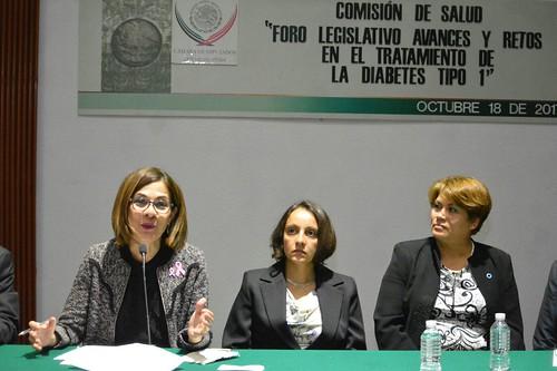 """Comisión De Salud """"Foro Legislativo Avances Y Retos En El Tratamiento De La Diabetes Tipo 1"""" 18 Octubre del 2017"""