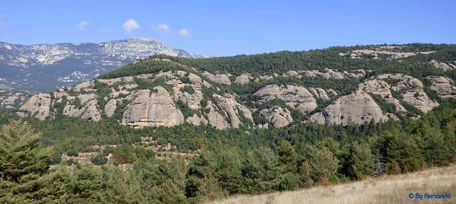 Solsonès 2017 - Exc 04 - Del Cardener a Riard -11- Pla de Riard -04- Hostal Cap del Pla -04- Serrat de Prat d'Estaques y sector de escalada de Font Ferrera